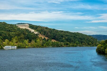 The Walhalla in Donaustauf on the Danube
