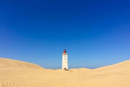The Rubjerg Knude Fyr lighthouse in Denmark