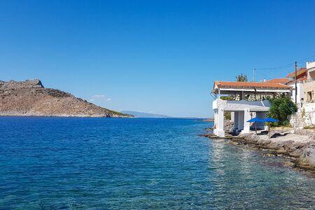 Perdika on the Greek island of Aegina 版權商用圖片