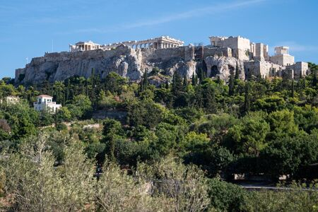 The Acropolis, the symbol of Athens