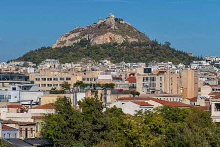 The Lycabettus Hill in Athens