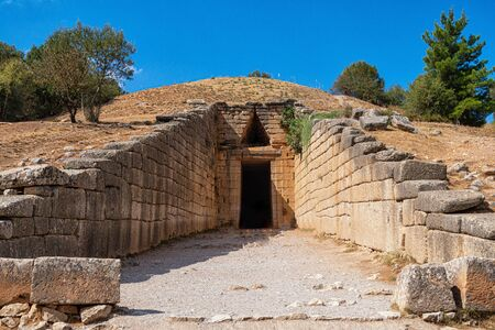 The treasure house of Atreusin Mycenae