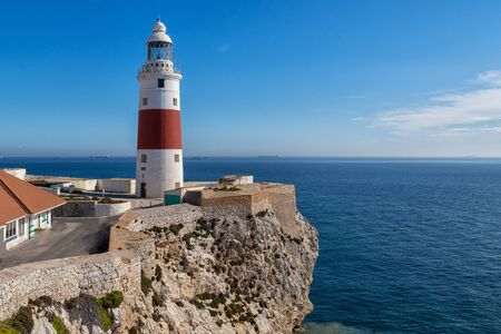 The lighthouse at Europa Point on Gibraltar