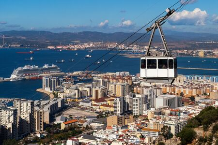 Cable car to the Rock of Gibraltar