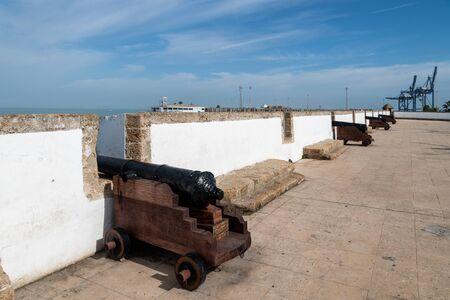 Murallas de San Carlos fortress in Cadiz