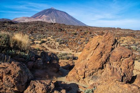 The mountain Pico del Teide Tenerife