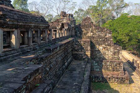 Baphuon Temple near Angkor Wat in Cambodia Stock Photo