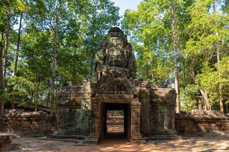 Ta Som Temple in Cambodia near Angkor Wat