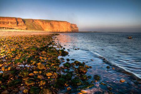 The cliffs of the island of Helgoland 版權商用圖片
