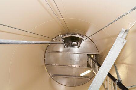 A pinwheel from the inside Фото со стока