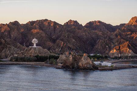 Incense burner in the port entrance of Muscat in Oman