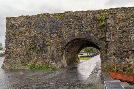 The Spanish Arch in Galway, Ireland