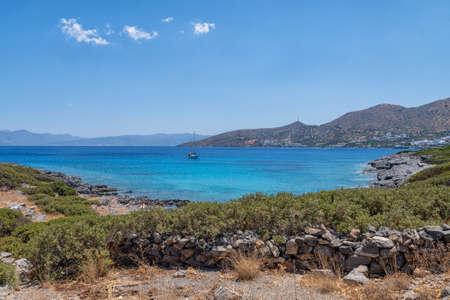 Dianiskari Beach on the Greek island of Crete