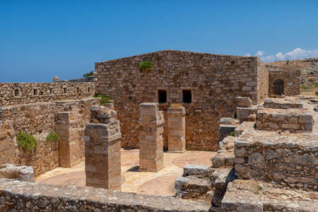The Fortezza fortress in Rethymno on the