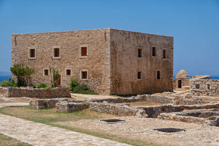 The Fortezza fortress in Rethymno on the Greek island