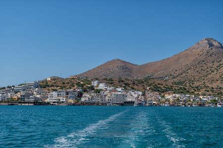 Elounda on the Greek island of Crete