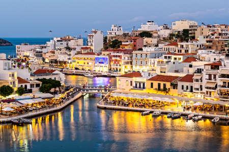 Agios Nikolaos on the Greek island of Crete