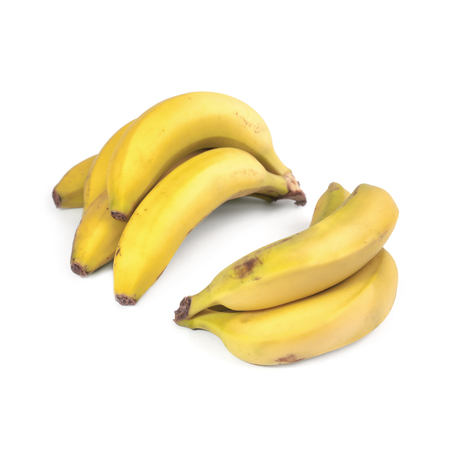 nearness: Bananas isolated on white background