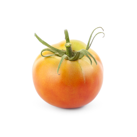 nearness: Bodar tomato isolated on white background. Local product of Catalonia (Spain) Stock Photo
