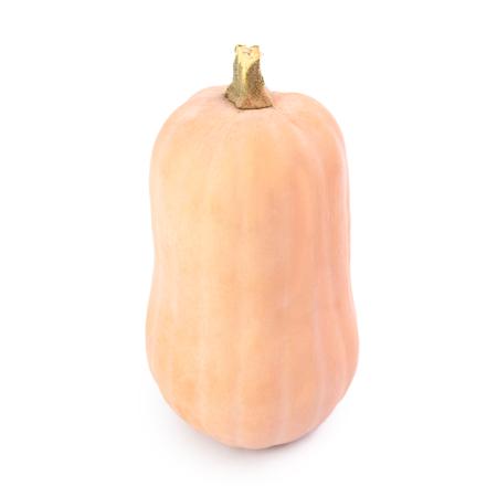 Butternut pumpkin isolated on white background Stok Fotoğraf