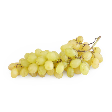 Ecologic bunch of grapes isolated on white background Stok Fotoğraf
