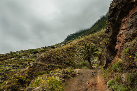 View of Anaga Country Park in Tenerife, Canary Islands - Spain