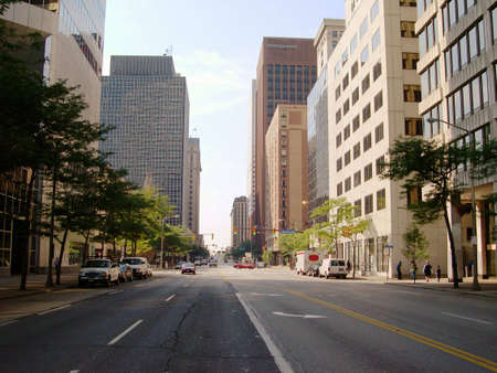 ninth: A view looking south on Ninth Street