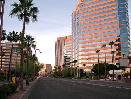 Centro de la ciudad de Phoenix, Arizona  Foto de archivo - 564311
