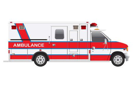 Ambulance Truck Stok Fotoğraf
