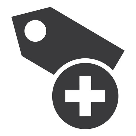 flat icon - add product