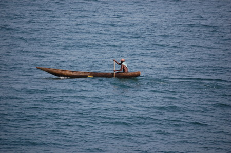 substantial: Fishing Canoe