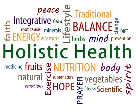 naturopath: Holistic Health Word Cloud