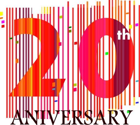 20th aniversary