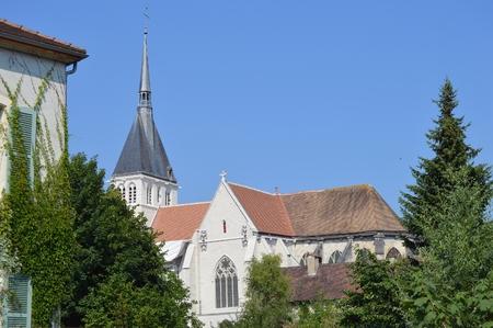 champagne region: Church in the Champagne region Aube