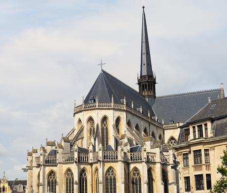 leuven: Cathedral of Saint Peter in Leuven Belgium