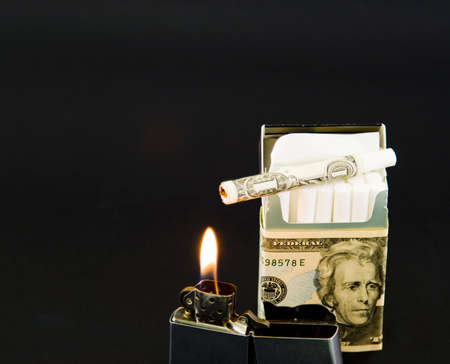 burning money: A conscious choice to waste money