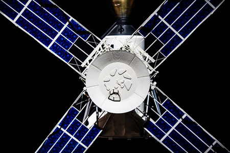 A model of an early NASA satellite. Stock Photo - 77308769
