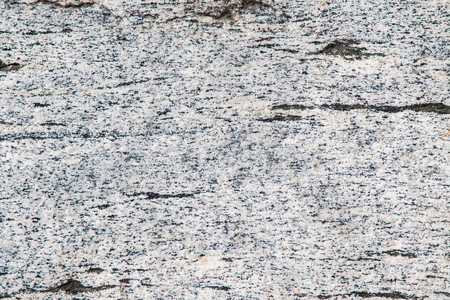 Close up of a white granite block revealing its texture Stock Photo