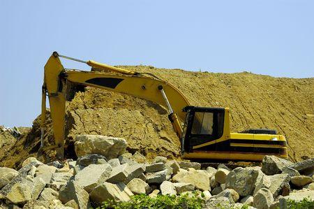 deere: Backhoe on a Construction Site