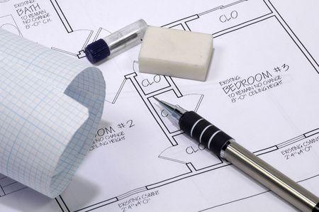 Drafting Items Stock Photo - 208188