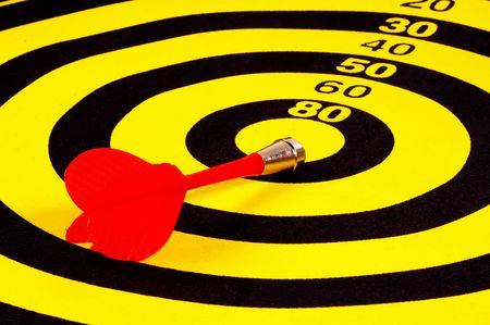 Bullseye Target Stock Photo