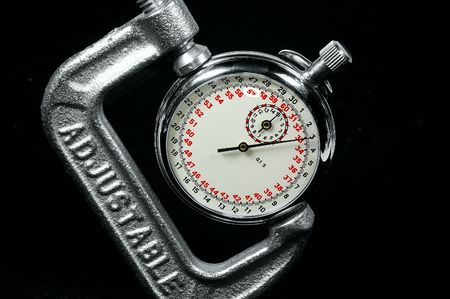 StopWatch in a Clamp