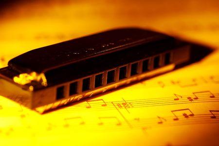 harmonica: Harmonica and Sheet Music