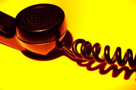 receiver: Vintage Telephone Receiver