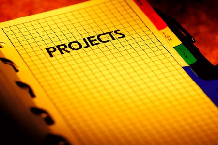 dayplanner: Photo of a Project Planner
