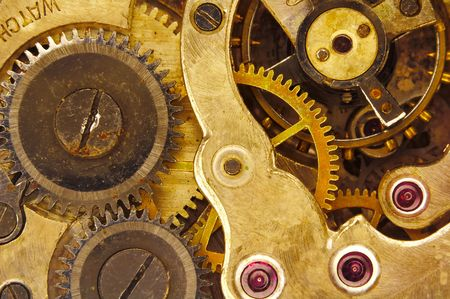 sprockets: Macro Photo of a Watch Movements