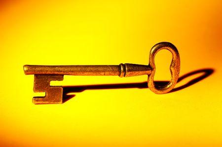 Photo of a Vintage Style Key.