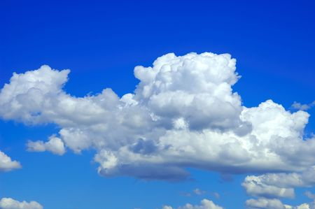 Blue Sky with Clouds Stock Photo - 234055