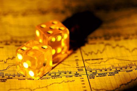 makelaardij: Financial Risk Concept Stockfoto