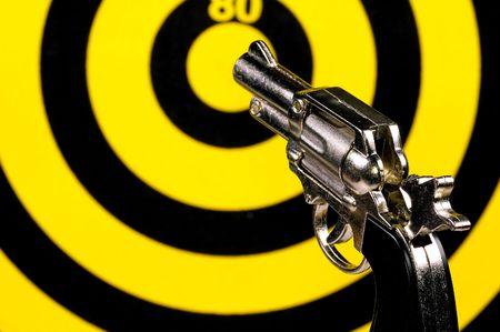 cocked: Gun and Target